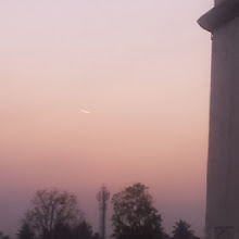"""Photo: Photo captioned """"Meteorite blazing across the sky behind one of the Minarets at the Maqbara. Anything in the news?"""" uploaded to Facebook on January 07, 2014 at 08:00PM"""