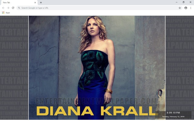 Diana Krall New Tab & Wallpapers Collection