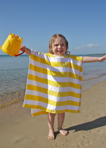Photo: Teeny Me Yellow Poncho