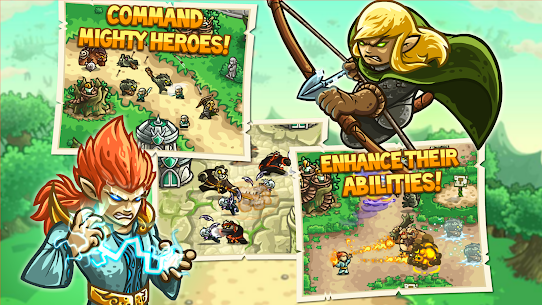Kingdom Rush Origins MOD APk (Unlimited Gems/Unlocked Heros) 3