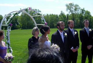 Photo: Anita and Ben, now married