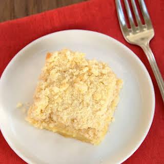 Lemon Yogurt Crumb Cake.