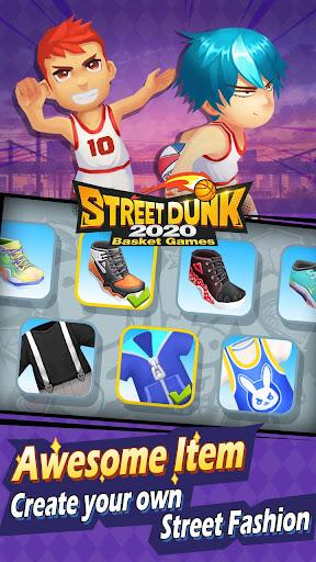 Street Dunk-2020 Basket games screenshot 3