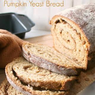 Cinnamon-Swirl Pumpkin Yeast Bread.