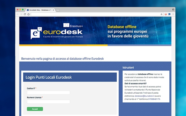 Database Eurodesk