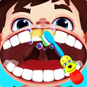Crazy dentist games with surgery and braces icon