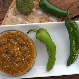 Hatch Chili Salsa Verde.