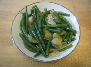Green Beans With Pearl Onions Recipe