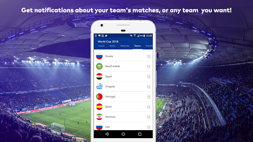 World Cup 2018 in Russia - Live Score, Match, News 6.0 screenshots 4