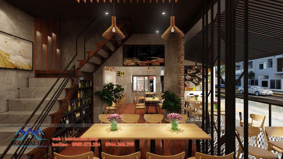 thiết kế nhà hàng lẩu nướng Đông Anh 5