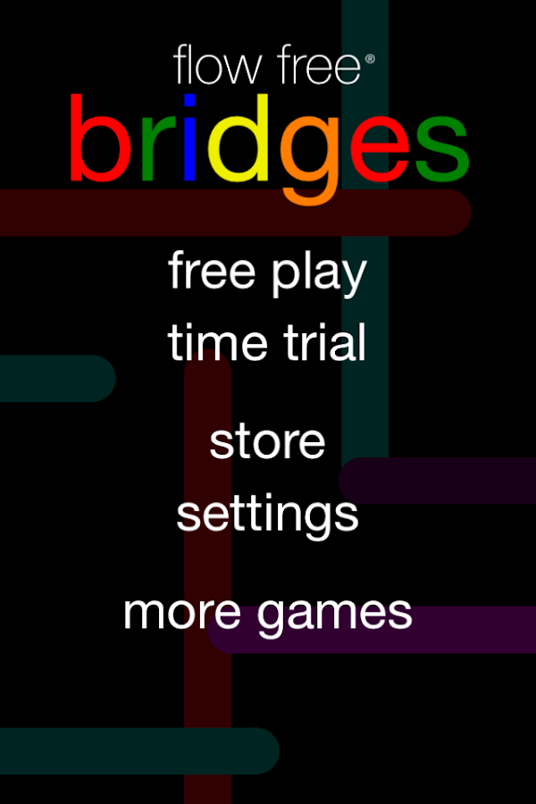 Flow Free: Bridges- screenshot