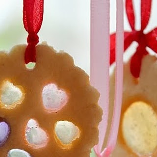 Stained Glass Cookies | Christmas Cookies | Christmas Edible Gifts | Edible Christmas Tree Decorators