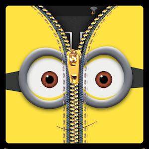 Zipper Lock Screen Yellow for PC and MAC