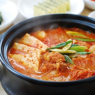 Kimchi Jjigae.