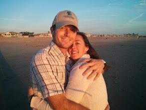 Photo: Rare Non-Selfie of Mark and Eva