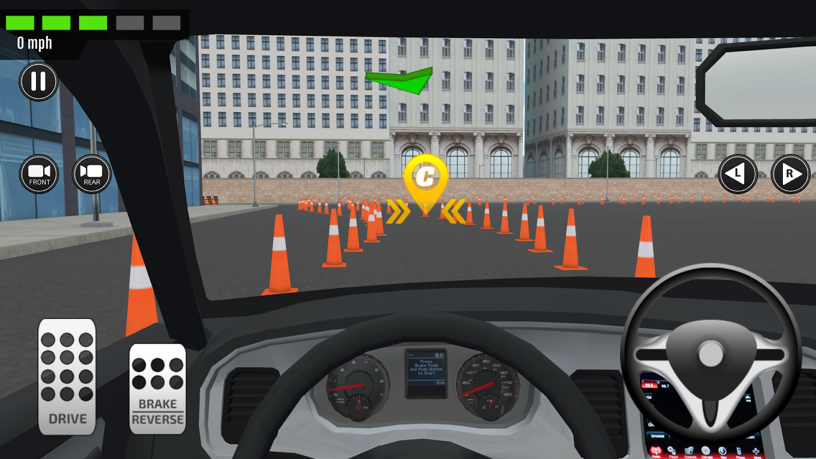 Emergency Car Driving Simulator- screenshot