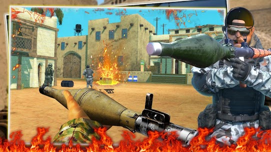 FPS Commando Secret Mission MOD APK ( Unlimited All) 7