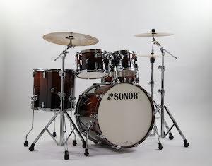 Sonor AQ2 - 22/10/12/16/14s. Finish: Brown Fade