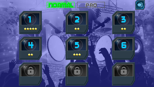 Drum Hero (rock music game, tiles style) 2.3 Mod screenshots 4