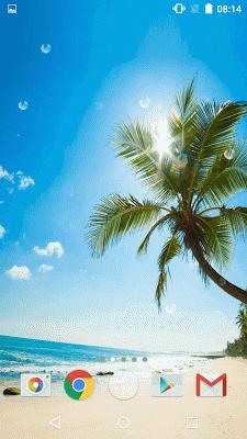 Beach Live Wallpaper - screenshot
