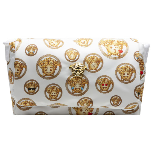 Primary image of Young Versace Medusa Emoji Changing Bag