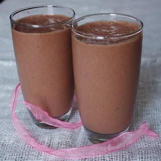 Strawberry And Chocolate Cocktail
