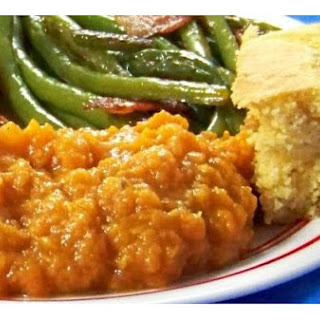 Lightened Mashed Sweet Potatoes