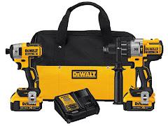 DeWalt 20V MAX XR Drill/Driver Combo Kit