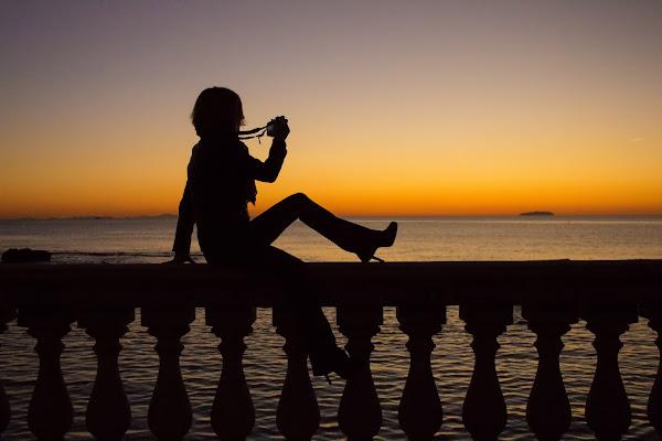 Fotografando chi fotografa il tramonto di Gianluca Presto