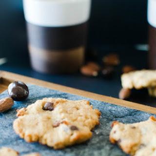 Paleo Vanilla Almond Dark Chocolate Chunk Cookies