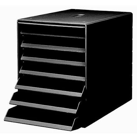 Förvaringsbox Idealbox  svart