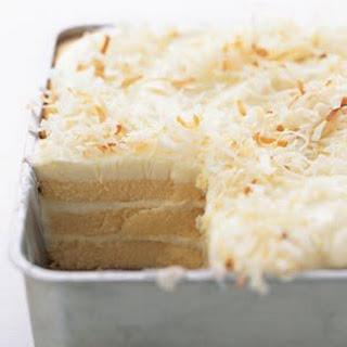 Toasted Coconut Refrigerator Cake