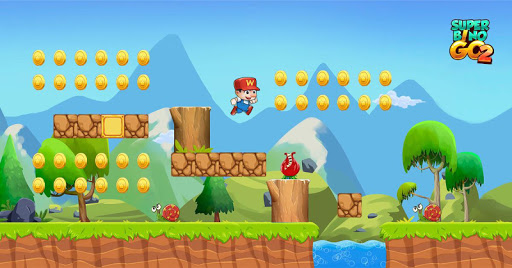 Super Bino Go 2 - Classic Adventure Platformer apkslow screenshots 1