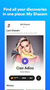 Shazam Encore Full 8.69.1-180814 Apk Free Download Latest Version 4
