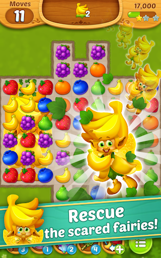 Fruits Mania : Fairy rescue  screenshots 3