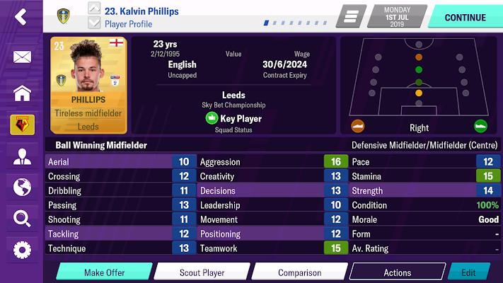 Football Manager 2020 Mobile Screenshot Image