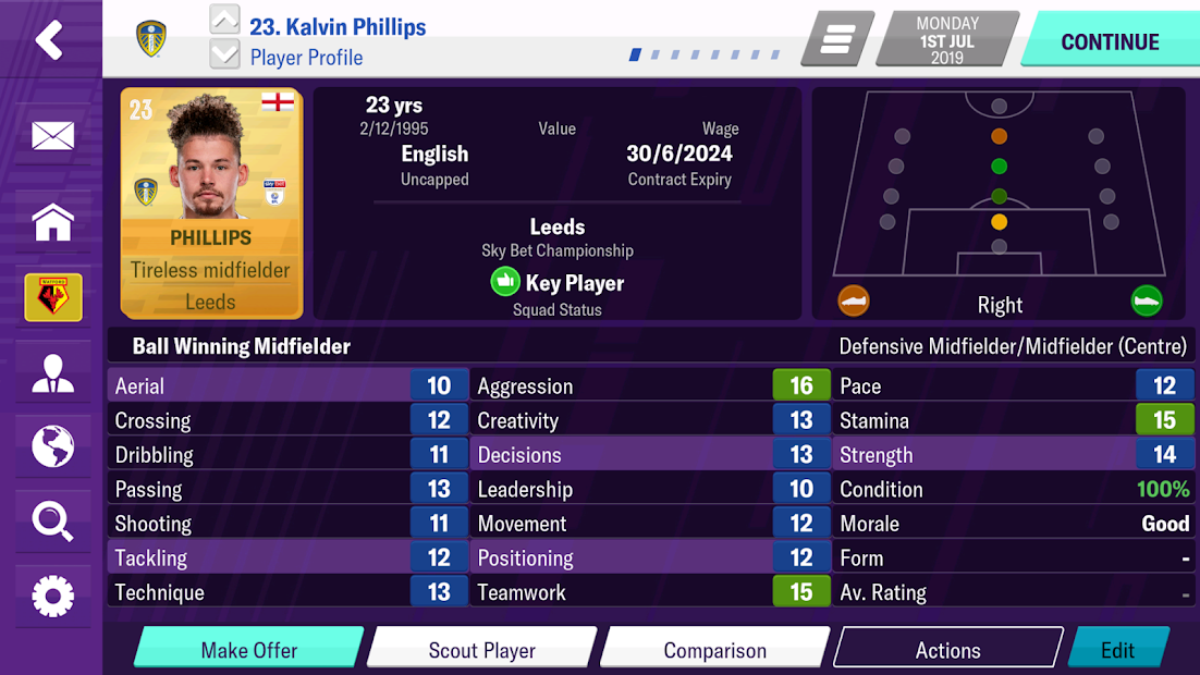 Football Manager 2020 Mobile Android App Screenshot