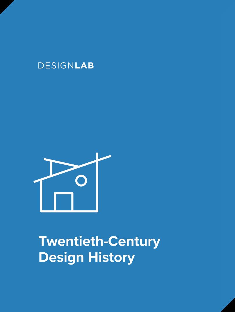 20th Century Design History