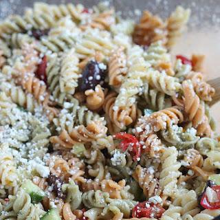 Quick & Easy Pasta Salad.