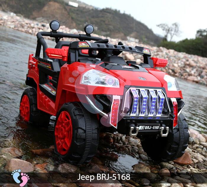 Xe oto điện cho bé Jeep BRJ-5168 5