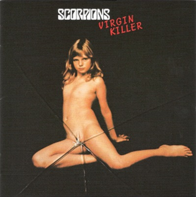 Scorpions - Virgin Killer front