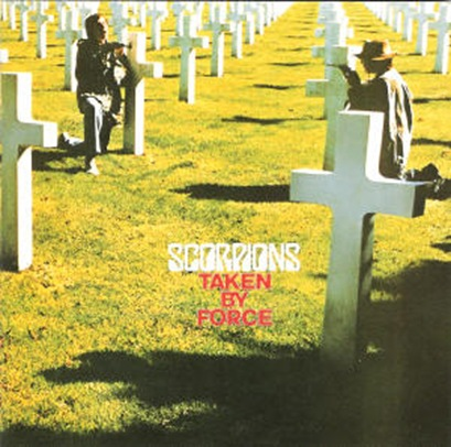 Scorpions - Taken By Force front