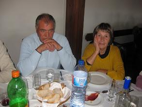 Photo: Serrano e esposa