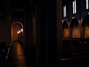 Photo: Don't Tell Me I'm Not Good Enough for You | Aisles in Harbison Chapel at Grove City College © 2006 Ryan Lynham