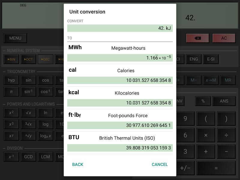 HiPER Calc Pro Screenshot 15
