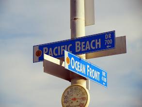 Photo: Walking on Pacific Beach, San Diego, CA
