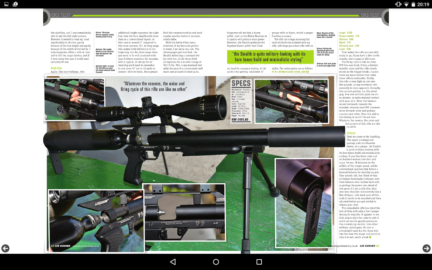 Air Gunner Magazine- screenshot