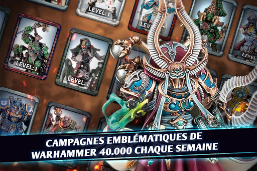 Warhammer Combat Cards - 40K Edition Card Battle fond d'écran 1