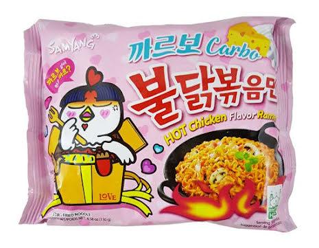 Hot Chicken Ramen Carbonara 130g Samyang