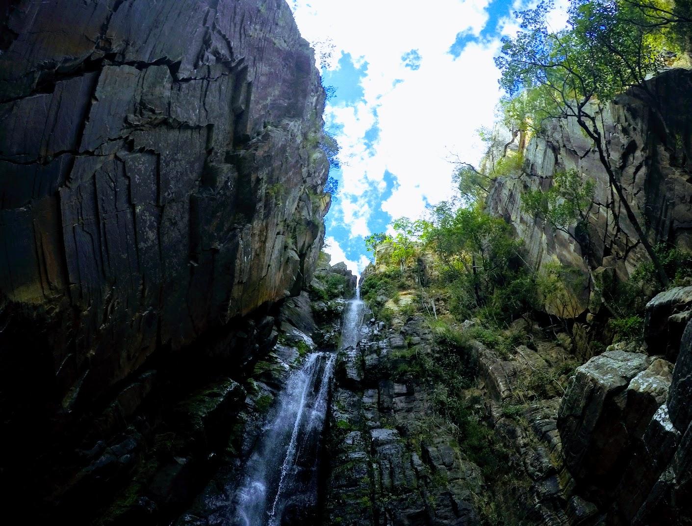 Cachoeira Véu da Noiva, na Serra do Cipó